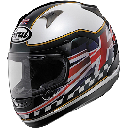 Arai RX-Q Helmet - UK Flag - Arai Vector 2 Helmet - Phil Read
