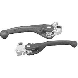 ARC Folding Composite Lever Combo - 2008 Suzuki RM85L ASV F1 Clutch Lever & Perch / Brake Lever Combo