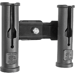 All Rite Catch & Release Double Rod Holder - NRA By Moose Pursuit Rifle Case