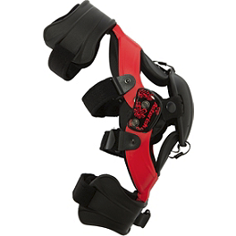 Asterisk Germ Youth Knee Braces - SixSixOne Youth Cyclone Knee Braces
