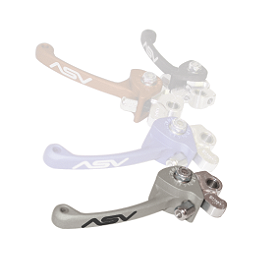 ASV C5 Brake Lever - 2006 Kawasaki KFX400 ASV F3 Clutch Lever, For Use With Hydraulic Clutch