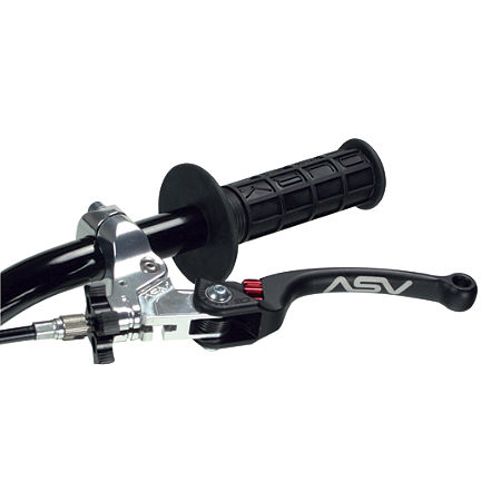 ASV C6 Clutch Lever With Thumb Hot Start - Black