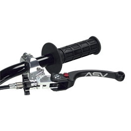 ASV C6 Clutch Lever With Thumb Hot Start - ASV F3 Brake Lever