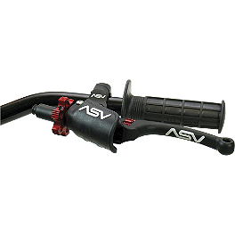 ASV C6 Pro Clutch Lever With Thumb Hot Start - ASV F3 Pro Model Clutch Lever & Perch With Thumb Hot Start