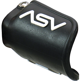 ASV Pro Clutch Perch Dust Cover - 1991 Kawasaki KX500 ASV F1 Clutch Lever / Cable Brake Lever & Perch - Shorty