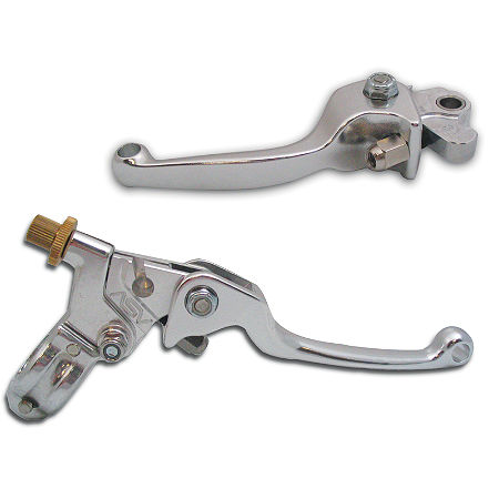 ASV F1 Clutch Lever & Perch / Brake Lever with Brake Plunger Adapter Combo - Main