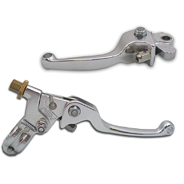 ASV F1 Clutch Lever & Perch / Brake Lever with Brake Plunger Adapter Combo - 2013 Honda CRF250R ASV F3 Pro Model Clutch Lever & Perch