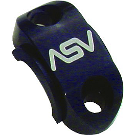 ASV Rotator Clamp - Hydraulic Clutch - 2010 Yamaha YZ125 ASV F1 Clutch Lever / Cable Brake Lever & Perch