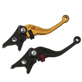ASV C5 Sportbike Brake Lever - 2005 Kawasaki ZX1200 - ZZ-R 1200 ASV C5 Sportbike Brake And Clutch Lever Kit