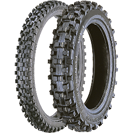 Artrax 80/85 Big Wheel Tire Combo - 2008 Kawasaki KX100 Maxxis Maxxcross IT 80/85BW Tire Combo