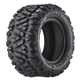 Artrax CTX Radial Rear ATV Tire - 26x11-14 - 1996 Yamaha TIMBERWOLF 250 4X4 ITP T-9 GP Rear Wheel - 10X8 3B+5N Polished