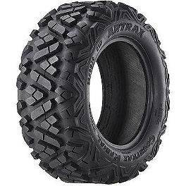 Artrax CTX Radial Front ATV Tire - 26x9-12 - 2009 Suzuki KING QUAD 450AXi 4X4 Artrax CTX Rear ATV Tire - 25x10-12