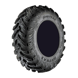 Artrax MDX Radial Front ATV Tire - 25x8-12 - 2004 Polaris RANGER 500 2X4 Artrax CTX Rear ATV Tire - 25x10-12