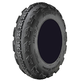 Artrax MXT-R Front Tire - 20x6-10 - 1984 Honda ATC200E BIG RED Artrax MXT-R Rear Tire - 18x10-8