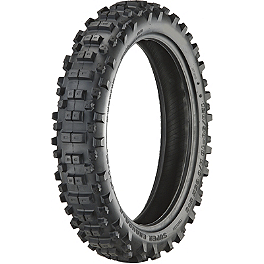 Artrax SE3 Rear Tire - 120/90-18 - 1996 KTM 400RXC Warp 9 Complete Rear Wheel 2.15X18 - Orange/Black
