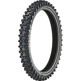 Artrax SE3 Front Tire - 80/100-21 - 2001 Honda CR500 Artrax MX-Pro Rear Tire - 110/100-18