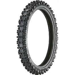 Artrax SX1 Front Tire - 80/100-21 - 1986 Honda CR250 Artrax MX-Pro Rear Tire - 110/100-18