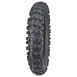 Artrax TG4 Rear Tire - 100/100-18 - 1983 Yamaha IT250 Artrax TG4 Front Tire - 80/100-21