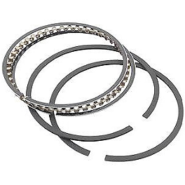Athena Replacement Ring Set - 144cc - 2008 Yamaha YZ125 Athena Gasket Kit - Complete