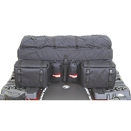 A.T.V. Cargo Bag - Black - Moose Bighorn Rear Rack Bag - Black