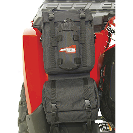 A.T.V. Fender Bag - Black - Classic Accessories Quad Gear Extreme Handlebar Bag