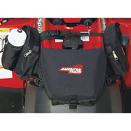 A.T.V. Tank Saddle Bag - Black - Moose Expedition Tank Bag - Black