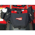 A.T.V. Tank Saddle Bag - Black - Utility ATV Riding Gear
