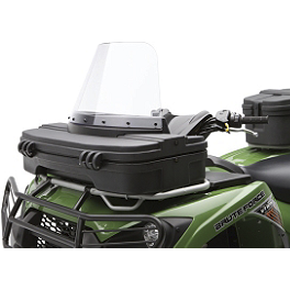 Kawasaki Genuine Accessories Windshield - Kawasaki Genuine Accessories Front Rack Cargo Box