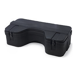 Kawasaki Genuine Accessories Rear Rack Cargo Box - 2011 Kawasaki BRUTE FORCE 650 4X4 (SOLID REAR AXLE) Kawasaki Genuine Accessories Front CV Joint Guards