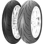 Avon 3D Ultra Supersport Front Tire - 120/70ZR17 - Avon Tire 120 / 70R17 Motorcycle Parts