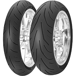 Avon 3D Ultra Supersport Tire Combo - Avon Distanzia Front Tire - 110/80R19