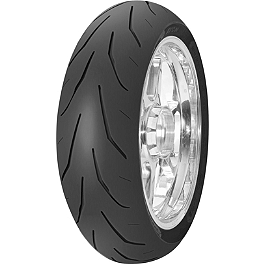 Avon 3D Ultra Xtreme Rear Tire - 180/55ZR17 - Avon Distanzia Front Tire - 80/90-21S
