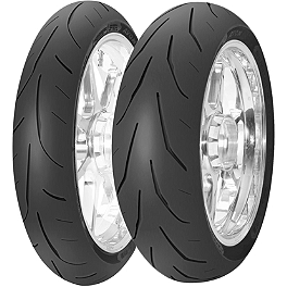 Avon 3D Ultra Xtreme Tire Combo - Avon 3D Ultra Xtreme Rear Tire - 180/55ZR17