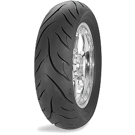 Avon Cobra Radial Rear Tire - 300/35VR18 - Avon Cobra Front Tire - 100/90-19 Wide Whitewall