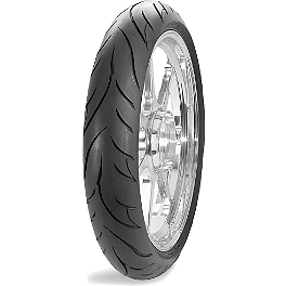 Avon Cobra Front Tire - 100/90-19 - Avon Roadrider Rear Tire - 100/90-18V