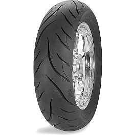 Avon Cobra Rear Tire - 150/80-16VB - Avon Cobra Front Tire - MT90-16B Wide Whitewall