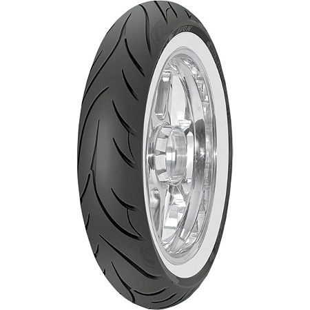 Avon Cobra Front Tire - 100/90-19 Wide Whitewall - Main