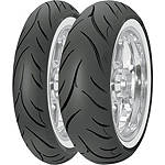 Avon Cobra Wide Whitewall Tire Combo - Avon Tire Cruiser Tires