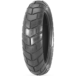 Avon Distanzia Rear Tire - 130/80-17T - Lightning Performance Highway Peg Kit & Floorboards Combo