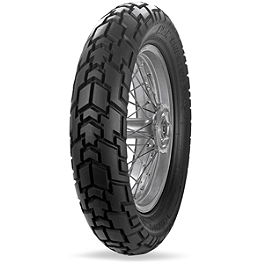 Avon Gripster Rear Tire - 130/80-17S - Avon Distanzia Front Tire - 90/90-21