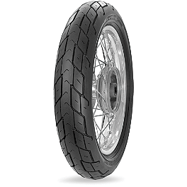 Avon AM20 Roadrunner Front Tire - 130/90-16H - Avon Roadrider Rear Tire - 100/90-18V