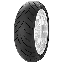 Avon Storm 2 Ultra Rear Tire - 180/55ZR17 - Avon Distanzia Front Tire - 80/90-21S