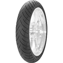 Avon Storm 2 Ultra Front Tire - 110/80R18 - Metzeler Roadtec Z8 Interact Front Tire - 110/80ZR18
