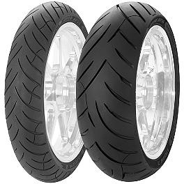 Avon Storm 2 Ultra Tire Combo - Avon 3D Ultra Supersport Rear Tire - 190/55ZR17