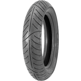 Avon Venom Front Tire - 80/90-21H - Avon Roadrider Rear Tire - 130/80-18V