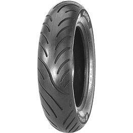 Avon Venom Rear Tire - 170/80-15HB - Avon Cobra Front Tire - MT90-16B Wide Whitewall