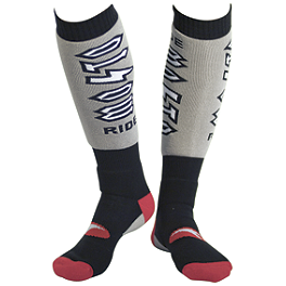 AXO Youth MX Socks - 2013 Fox Youth Fri Socks - Rockstar