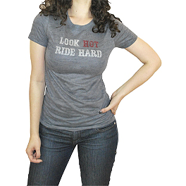 Bika Chik Women's Look Hot, Ride Hard T-Shirt - Bika Chik Women's Route 66 T-Shirt