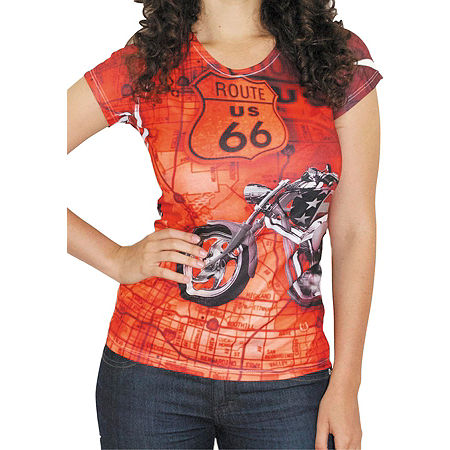 Bika Chik Women's Route 66 T-Shirt - Main