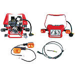 Baja Designs EZ Dual Sport Kit Electric Start - Baja Designs Dirt Bike Light Kits